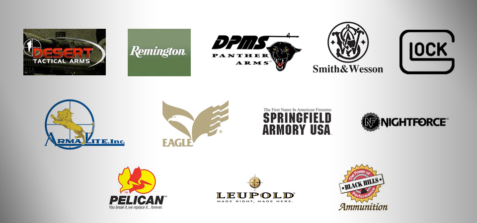 Precision Arms is Your Source for These Great Brands